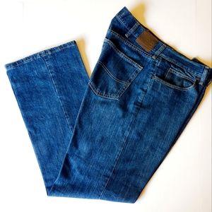 Lee Regular Fit Men Blue Jeans Size 36x32